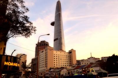 Башня Bitexco. Хошимин - Вьетнам