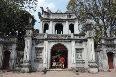 Temple of literature_Hanoi_Vietnam