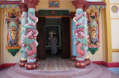 Храм секты Као Дай - Ми Тхо.Вьетнам