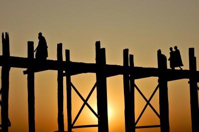 U-Beinn bridge, Mandalay, Myanmar
