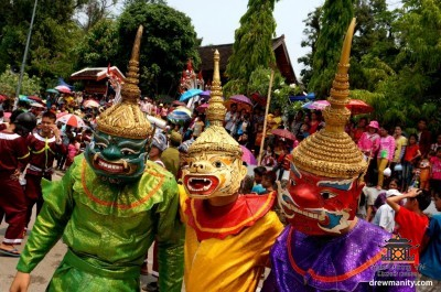 Новогодний Лаос