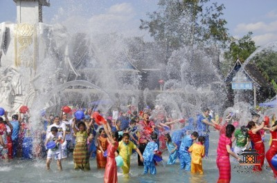 Новый год в Мьянме
