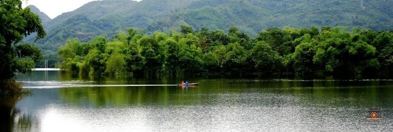 озеро Нуйкок, город Тхайнгуен, Ханой, Вьетнам